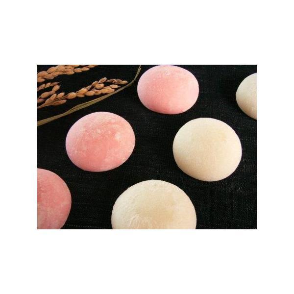 紅白丸餅(2個入れ) 一升から25袋 業務用