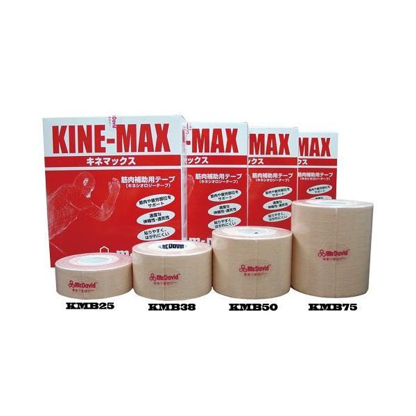 マクダビッド Mc David キネマックス キネシオテープ 3.8cm幅×5.0m 1箱8本入り【KMB38】
