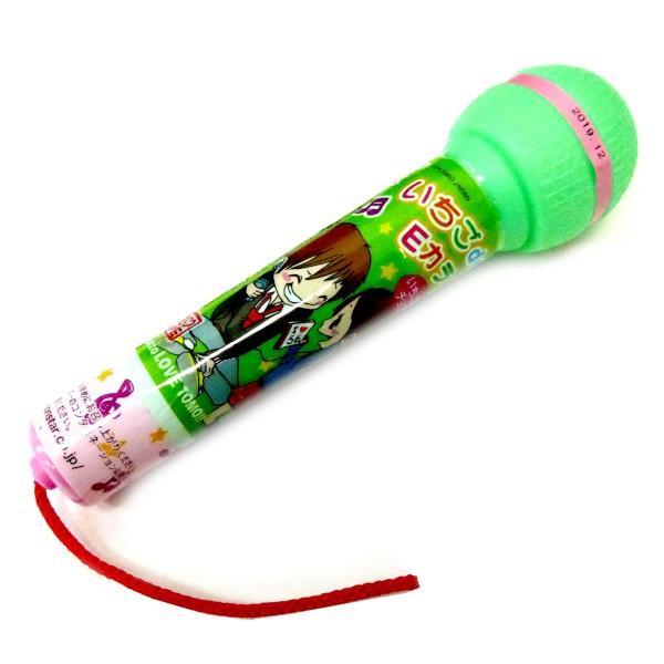 【特価】オリオン いちご de Eカラ マイク駄菓子 12個入り8BOXタオバオでも人気【駄菓子】