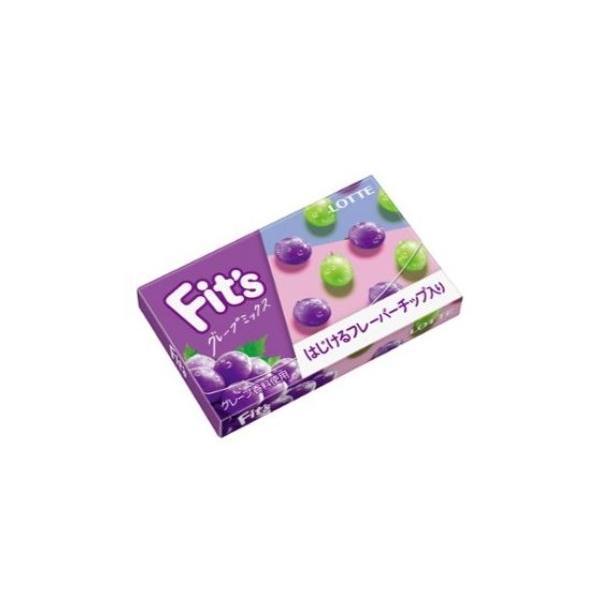 Fit's(フィッツ) グレープミックス ガム【ロッテ】10個入り1BOX