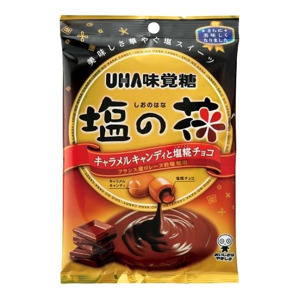 塩の花キャンデー 80g UHA味覚糖 フランス産ロレーヌ岩塩を使用
