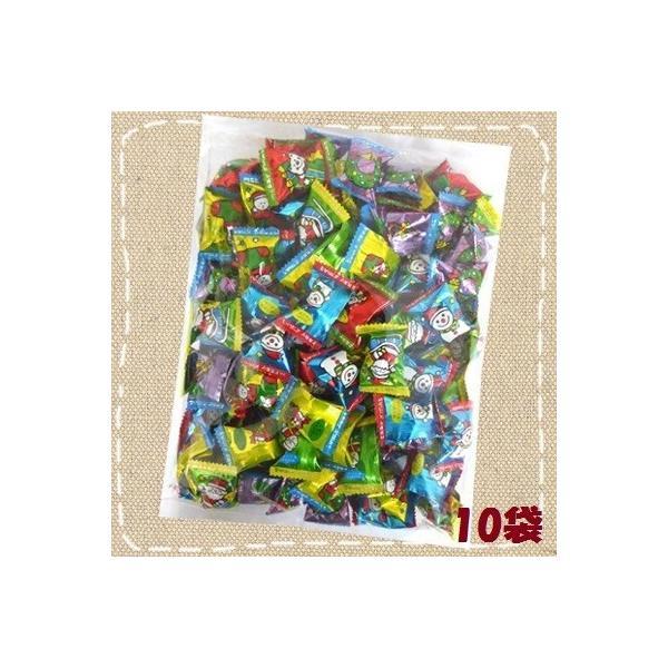 1キロ入り クリスマスキャンディ 1kg×10袋 キッコー製菓 1kg徳用キャンデー 季節限定品 約160個入