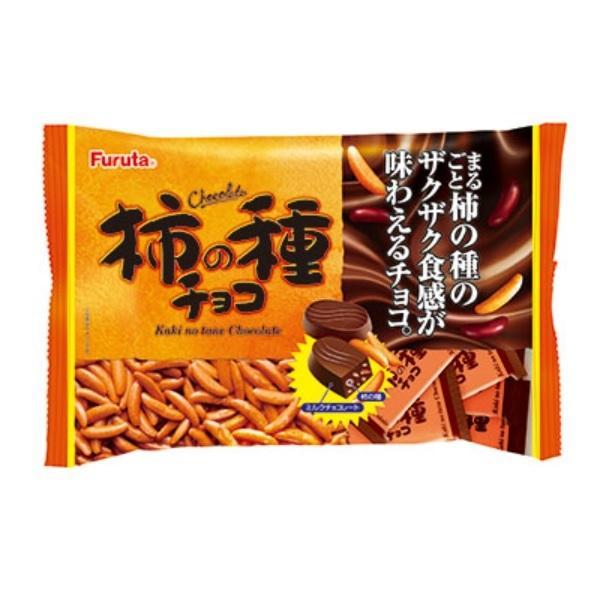 柿の種チョコ ファミリーパック フルタ製菓 183g 柿の種Xミルクチョコ