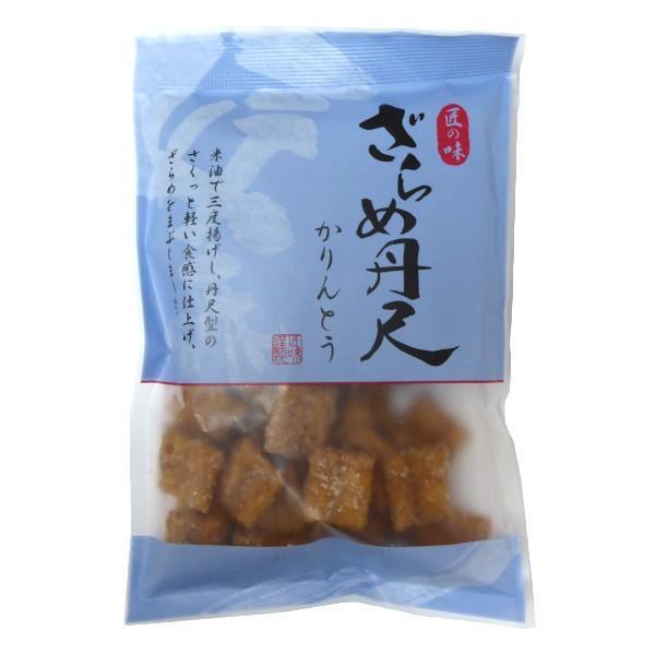 金崎製菓 匠の味 ざらめ丹尺かりんとう 100g×6袋