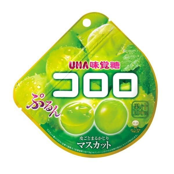 コロロ マスカット 48g×6袋入り12BOX UHA味覚糖 果実のような新食感グミ タオバオでも人気商品
