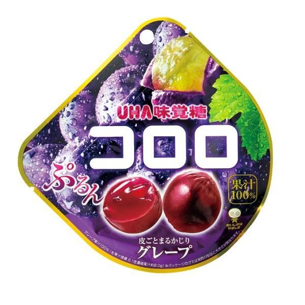 コロロ グレープ 48g×6袋入り5BOX【UHA味覚糖】果実のような新食感グミ