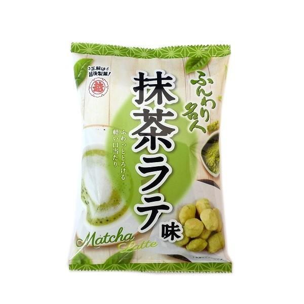ふんわり名人抹茶ラテ 35g×30袋 越後製菓  国産もち米100%