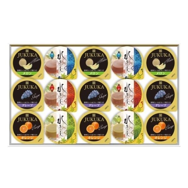 フルーツゼリー&水羊羹詰合せ ギフト ×16セット FRM-15 金澤兼六製菓 デザートギフト 代引き不可
