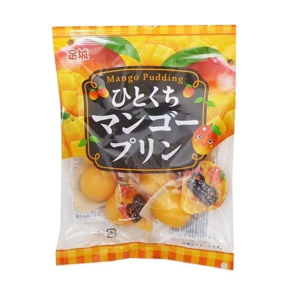 ミニゼリー ひとくちマンゴープリン  16g×9個入り 20袋(180個) 金城製菓