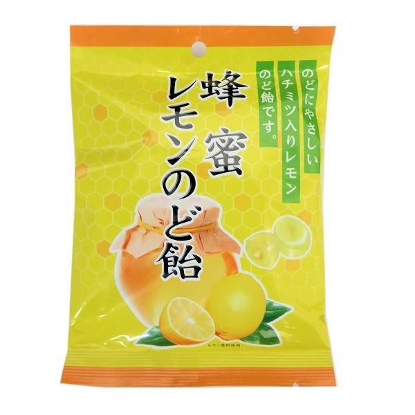 蜂蜜レモンのど飴 74g×10袋 川口製菓