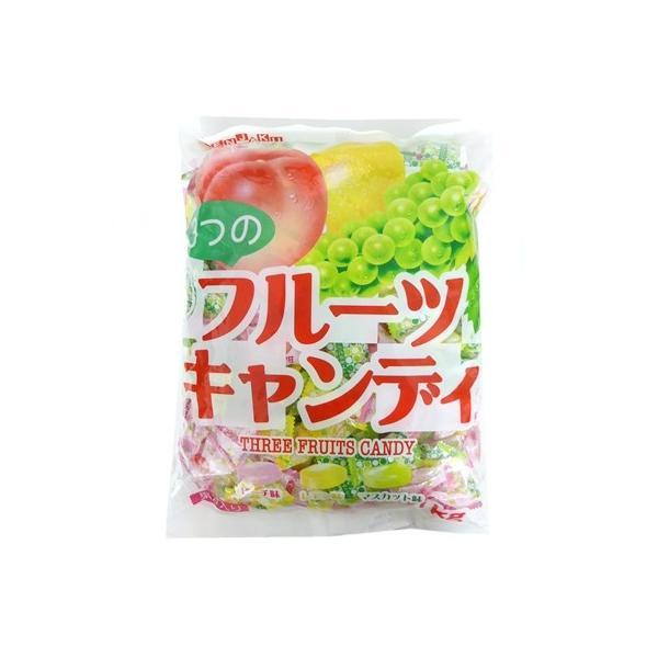 1キロ入り 3つのフルーツキャンディ 徳用袋 1kg×80袋 扇雀飴本舗 1袋約260粒前後入り 代引き不可