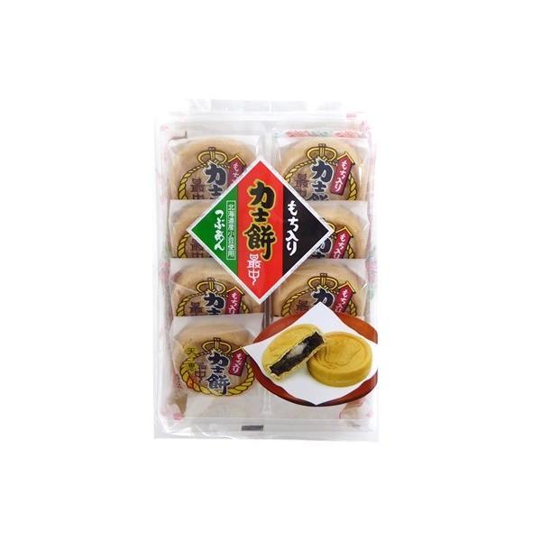 天恵製菓 もち入り 力士餅 最中 8個入り×1袋 半生菓子 個装 北海道産小豆使用 つぶあん