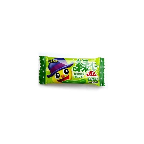 マルカワ緑べ〜ガム 青りんご味 10円50個入り1BOX