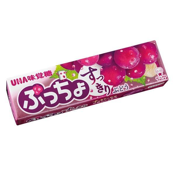 ぷっちょスティック ぶどう UHA味覚糖 10本入り1BOX