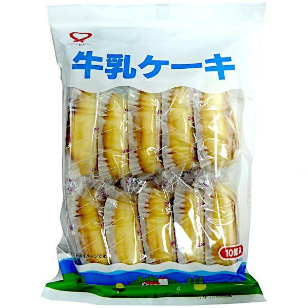 牛乳ケーキ 10個 シアワセドー ケーキ・スイーツ・半生菓子