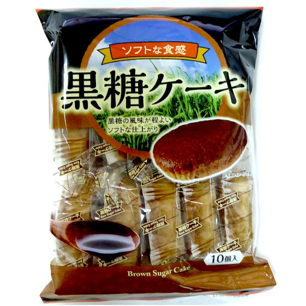 黒糖ケーキ 10個×10袋 シアワセドー ケーキ・スイーツ・半生菓子