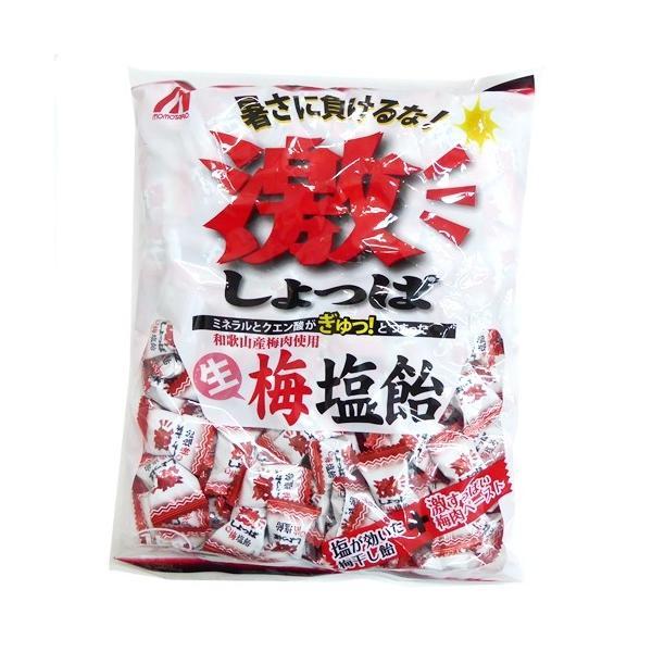 1キロ入り 激しょっぱ 生梅塩飴 桃太郎製菓 1kg個装タイプ