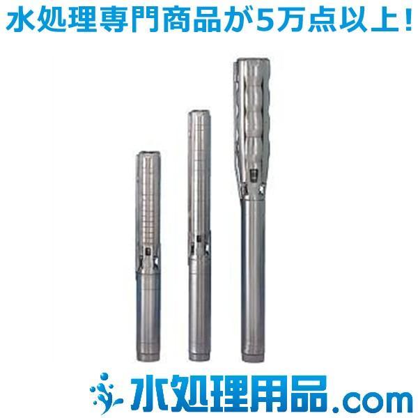 ツルミポンプ ステンレス製深井戸水中ポンプ SPA型 50Hz 井戸径100mm SP14A-7/6