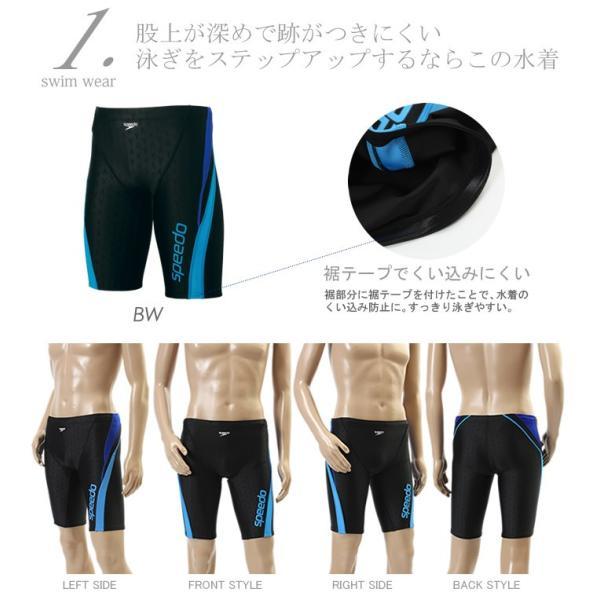 【到着後レビューで送料無料】 メンズ レーシングフィットネス水着 スピード 4点セット 第1弾 【C】|mizugi|02