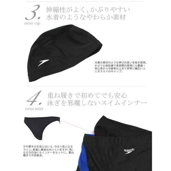 【到着後レビューで送料無料】 メンズ レーシングフィットネス水着 スピード 4点セット 第1弾 【C】|mizugi|04