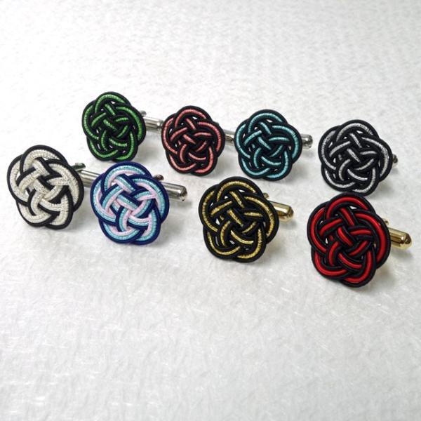 水引 カフスボタン 8色|mizuhiki-yuhafu|10