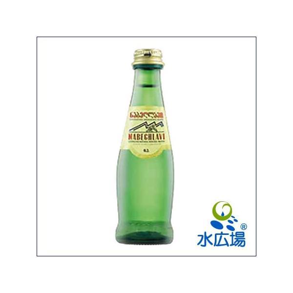 炭酸水 天然炭酸 ナベグラヴィ 200ml グラスボトル24本入り コーカサスの健康鉱泉 送料無料|mizuhiroba-jp