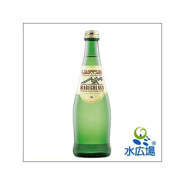 炭酸水 天然炭酸 ナベグラヴィ 500ml グラスボトル12本入り コーカサスの健康鉱泉 |mizuhiroba-jp