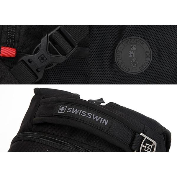 リュックサック メンズ リュック 大容量 ブランドSWISSWIN 正規品 おしゃれ 機能的 使いやすい リュックサック レディース