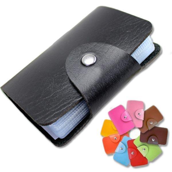 カードケース 大容量 薄型 スリム レディース おしゃれ ポイントカードケース メンズ 大人 名刺入れ 24枚収納可能 合皮 レザー|mizuki-store