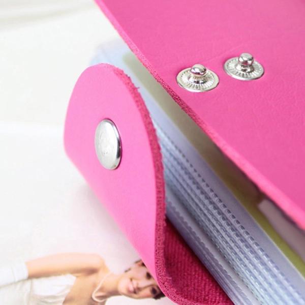 カードケース 大容量 薄型 スリム レディース おしゃれ ポイントカードケース メンズ 大人 名刺入れ 24枚収納可能 合皮 レザー|mizuki-store|19