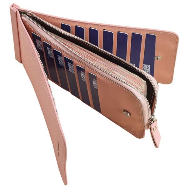 長財布 レディース 使いやすい おしゃれ長財布 メンズ 薄型 二つ折り財布 カードケース 大容量 収納  PUレザー ウォレット 小銭入れ 男女兼用 ビジネス オフィス|mizuki-store|15
