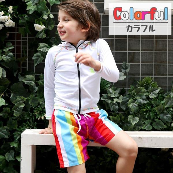 子供 水着 男の子 キッズ 水着 パンツ サーフパンツ 海パン カラフル トランクス こども ジュニア 男児 100cm 110cm 120cm 130cm 140cm|mizuki-store|04