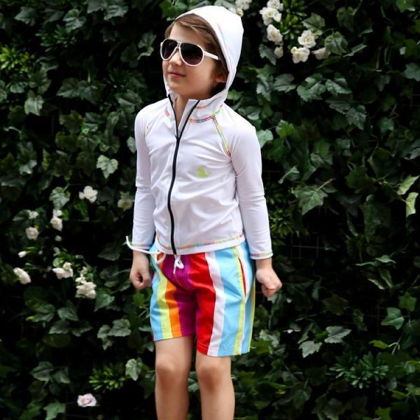 子供 水着 男の子 キッズ 水着 パンツ サーフパンツ 海パン カラフル トランクス こども ジュニア 男児 100cm 110cm 120cm 130cm 140cm|mizuki-store|05