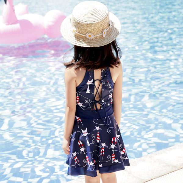 子供 水着 女の子 キッズ 水着 セパレート  ワンピース ショートパンツ 2点セット 100cm 110cm 120cm 130cm 140cm 150cm|mizuki-store|12