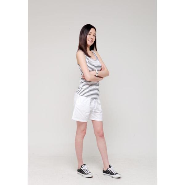 ショートパンツ レディース 単品 サーフパンツ ボード 短パン スウェット 水着用 黒 ホワイト 大きいサイズ|mizuki-store|04