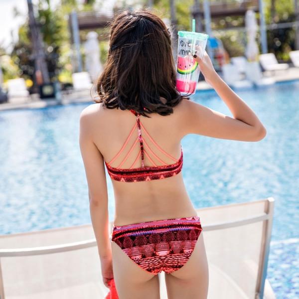 水着 レディース 体型カバー 水着レディース タンキニ ママ 大きいサイズ タンキニ水着 体型カバー水着 ビキニ水着 ビキニ 女の子 リゾート|mizuki-store|18