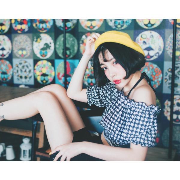 水着レディース ビキニ オフショルダー 体型カバー セパレート スカート ショートパンツ 4点セット ワイヤー入り 大人 ママ かわいい セクシー|mizuki-store|10