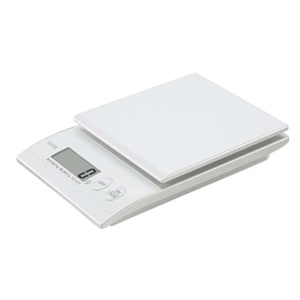 デジタルクッキングスケール 2kg KD-410(WH パールホワイト)タニタ