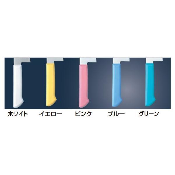 MILD CUT-2000 カラー庖丁 万能型 MCB 16cm グリーン|mizumawari-chuubou|02