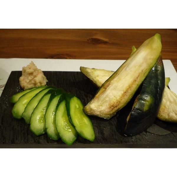 水なす漬け3個・きゅうり漬け2本セット 送料無料 |mizunasuzukehannbai|05