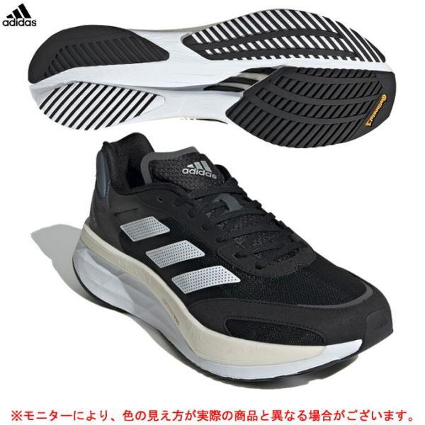 adidas(アディダス)ADIZERO BOSTON 10 WIDE アディゼロ ボストン 10 ワイド(GZ5426)ランニングシューズ マラソン シューズ 靴 スニーカー 幅広 メンズ