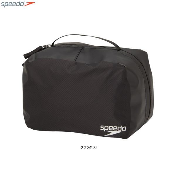SPEEDO(スピード)ダブルポケットプルーフ(SD98B54)スポーツ 旅行 アウトドア メッシュポーチ ランドリーポーチ プール 海水浴 ジム