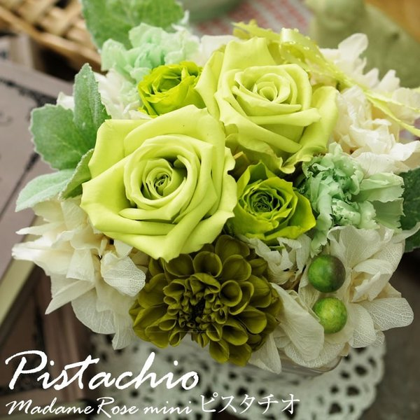 プリザーブドフラワー プレゼント 花 誕生日 女性 母の日 結婚記念日 お祝い マダムミニ|mizutomo|03