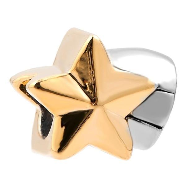 チャーム ブレスレット バングル用  ShinyJewelry シャイニージュエリー ShinyJewelry Star Charm Bead For European Bracelet