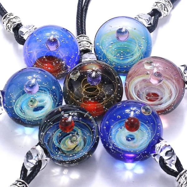 宇宙玉 惑星 ブレスレット そらだま 銀河 宇宙 ガラスアート 幻想的 パヴァルニ オリジナル ギャラクシー 宇宙ガラス ランプワーク Pavaruni Galaxy Ball Bracel