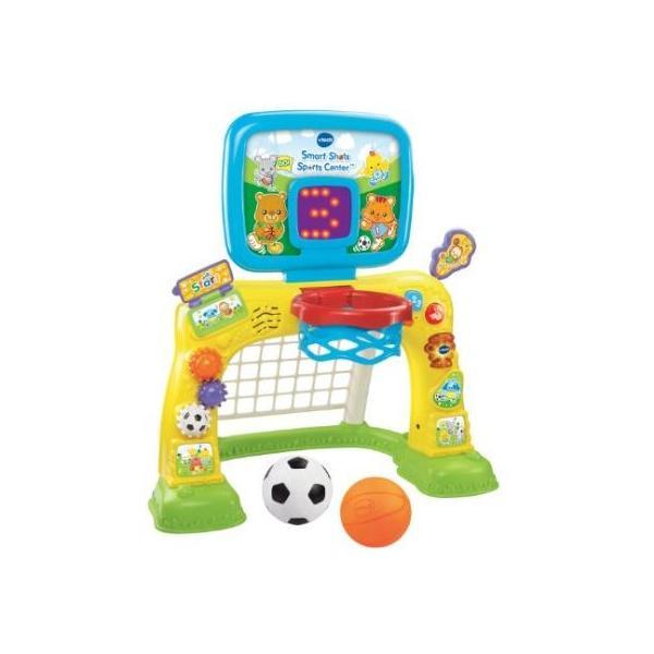 ヴィテック VTech製 スマートショットスポーツセンター Smart Shots Sports Center 幼児用・1歳から3歳・教育玩具・シュート・バスケットボール