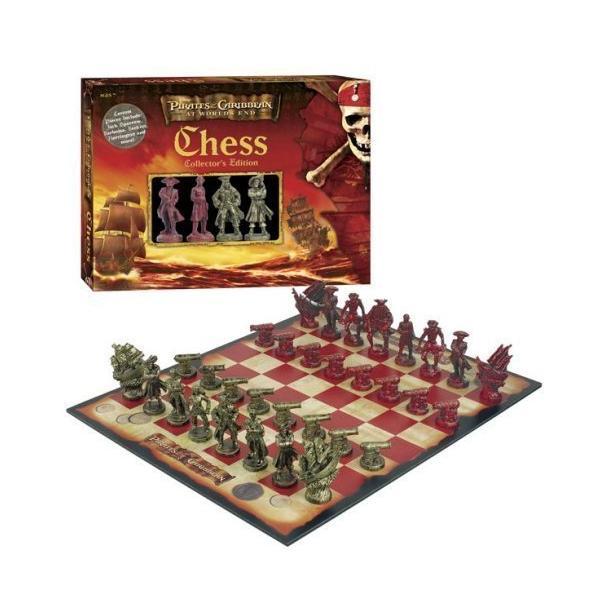 チェスセット  Pirates of the Caribbean: At World's End Collector's Edition Chess Set