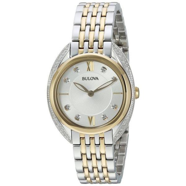 ブローバ Bulova 女性用 腕時計 レディース ウォッチ ホワイト 98R229