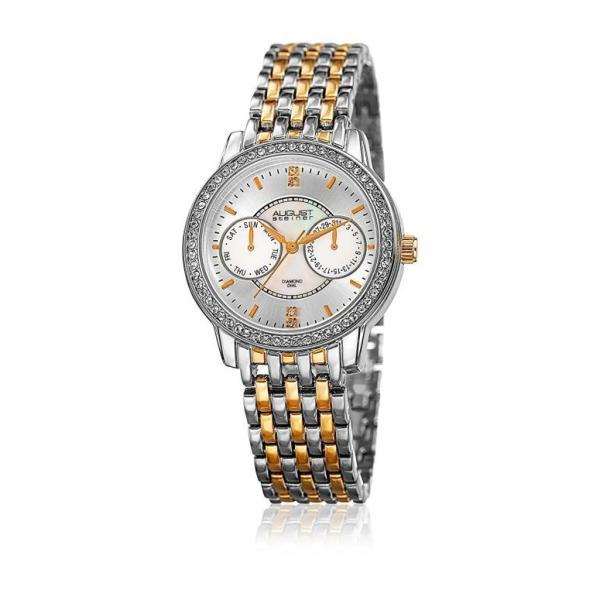 オーガストシュタイナ August Steiner 女性用 腕時計 レディース ウォッチ シルバー AS8228TTG