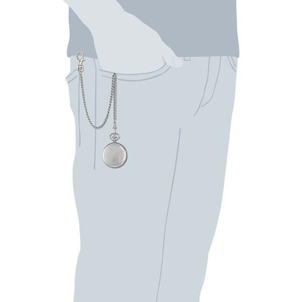 チャールズヒューバート Charles-Hubert, Paris 男女兼用 懐中時計 ユニセックス ポケット ウォッチ ホワイト 3916
